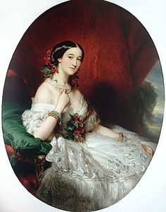 Duquesa Francisca de Alba, née Condessa de Montijo, Franz Xaver Winterhalter