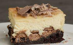 Kit Kat Brownie Cheesecake Slice