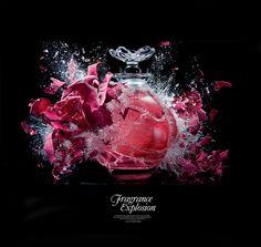 Harrods Fragrance Explosion