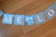 Owl Baby Shower Banner Baby Owl Banner Owl Banner Custom