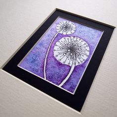 Abstract Flowers Lino Print Photo by j00lsy | Photobucket