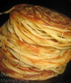 How to make buttery flaky moroccan bread msmen bread kitchen moroccan cuisine marocaine traditional handmade moroccan rzeeza or rzate lquadi forumfinder Gallery