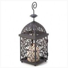 Moroccan Birdcage Candle Lantern | Candle Holders