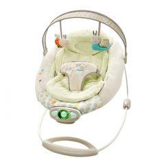 Bright Starts Hamquita para el bebé Ingenuity Seneca. #Hamaca muy confortable con un preciosos #peluches que dispone de un mecanismo vibratorio que ayudará a tu pequeño a relajarse.