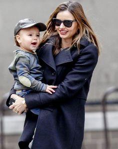 Alum: Miranda Kerr and son Flynn