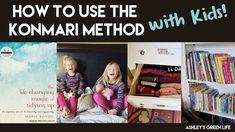 "Ashley's Green Life: How to Use the ""Konmari Method"" with Kids Kids Craft Storage, Kids Desk Organization, Organizing, Kids Craft Supplies, Art Supplies, Affordable Storage, Konmari Method, Up House, Green Life"