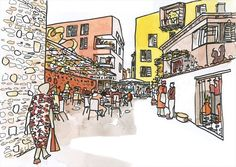 Concurso – Centro Urbano de Korça – Albânia – Bolles Wilson | concursosdeprojeto.org