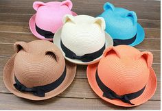 2013 New summer women straw hat in handmade kawaii by JnMstudio b4d0e74b8e1
