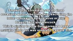 So is it safe to say that their relationship will be the same as Garp and Roger? Nah that'd probably be Luffy and Colby..