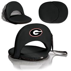 Georgia Bulldogs Stadium Seat / Beach Chair / Gaming Chair - Oniva Seat by Picnic Time