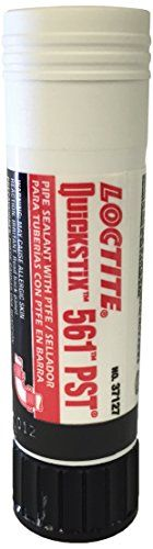Loctite 463973 White 561 Thread Locker, Tensile Strength 410 Psi, Solid 19 Ml Stick, 2015 Amazon Top Rated Thread Sealants #BISS