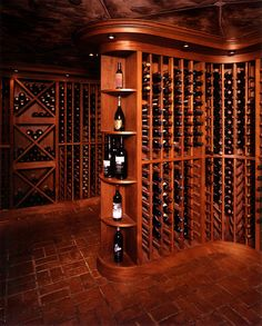 AMAZING WINE CELLAR! Beautiful floor!