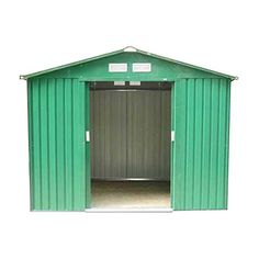 buy now   £219.99   METAL GARDEN SHED 8ft x 6 ft  PRODUCT DESCRIPTION:  *This Electro galvanised metal shed provides a strong secure storage solution at a very favourable price.  ...Read More