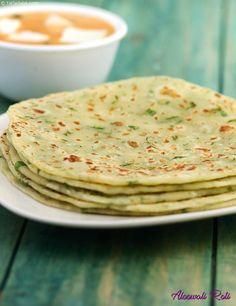Aloowali Roti recipe   Punjabi Recipes   by Tarla Dalal   Tarladalal.com   #30916