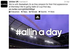 How to Activate a Sponsorship using Twitter – adidas & Wrexham FC