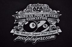 AMERICAN POOL PLAYERS ASSOCIATION  APA POOL BILLIARDS T-Shirt Men's 2XL XXL #Gildan #GraphicTee
