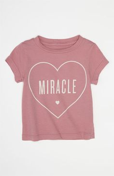 Peek 'Little Peanut - Miracle' Tee (Infant) available at #Nordstrom