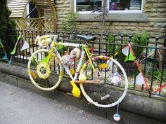 Harrogate Skills 4 Living decorated this bike Yorkshire, Bike, Decor, Bicycle, Decoration, Bicycles, Decorating, Yorkshire Terrier Puppies, Deco