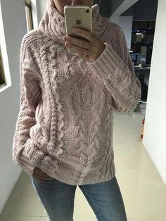Rowan Knitting, Aran Knitting Patterns, Knitting Stitches, Knit Patterns, Cable Knit Sweaters, Cozy Sweaters, Knitwear, Knit Crochet, Sweaters For Women