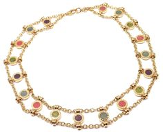 What a great find! Authentic! Bulgar... just added to our store! Must have! Get it here! http://fortrove.com/products/authentic-bulgari-bvlgari-18k-yellow-gold-coral-amethyst-agate-link-necklace?utm_campaign=social_autopilot&utm_source=pin&utm_medium=pin #MakeAnOffer