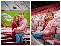 Though I AM NOT a Carolina Fan (Corey Potter) did a great job at photographing this couple. I absolutely love this Idea but we definitely we be at Clemson (: Go Tigers!
