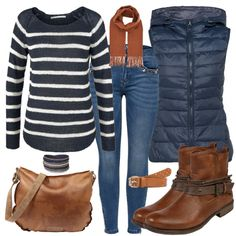 Herbstfarben Outfit - Herbst-Outfits bei FrauenOutfits.de