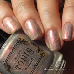 nail polish swatch of Incandescent from the Tonic Polish Holiday 2016 Collection