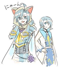 YUUYA'S NAME IS CAIN SO THE SIBLING CAN BE ABEL. GOSH DARNIT I JUST FIGURED THIS OUT AND IM SO UPSET