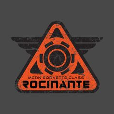 Check out this awesome 'Rocinante' design on The Expanse Ships, The Expanse Tv, Bicycle Paint Job, Dune Frank Herbert, Ship Logo, Sci Fi Series, The Big Lebowski, Sci Fi Books, Cyberpunk Art