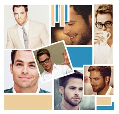 """""""Chris Pine"""" by hufflepuff9832 ❤ liked on Polyvore featuring beauty"""