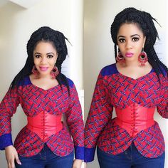 Ladies Ankara Tops For Jeans, ankara top styles with Jean shorts, ankara too with Jean trousers, perfect Ankara tops design for ladies, hot Ankara styles for jeans to match Ankara Blouse, Ankara Tops, African Men Fashion, African Women, Woman Fashion, African Outfits, African Dress, Mens Fashion, South African Traditional Dresses