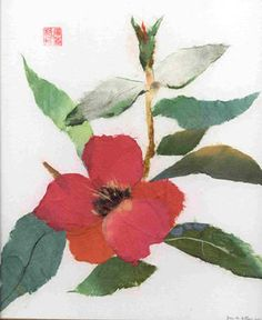 Chigiri e : Japanese torn paper art
