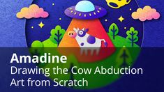 In this video tutorial you will learn how to create a complex graphics of cow abduction used on Amadine website. #amadineapp #digitalpainting #digitalart #digitalillustration #moreillustrations #illustration_best #vectorgraphics #vectorillustration #vectorgraphics #vectordrawing #bestvector #vectorimage #vectorwork #designapp #designsoftware #vectors #vector_art #cowabduction #cowabductionart
