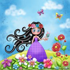Aime-Moi au royaume des fleurs by Myria-Moon - Myria-Moon facebook fanpage : www.facebook.com/myria.moon.la.vraie