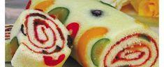 Receita de Rocambole de Frutas