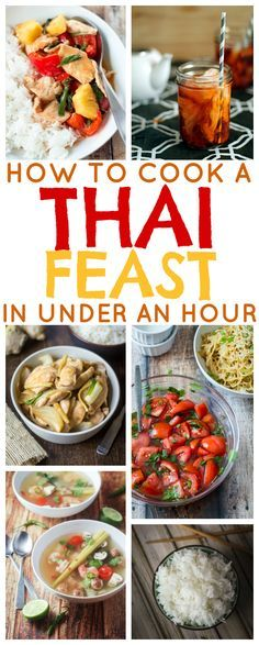 How to Cook a Thai Feast in Under an Hour!