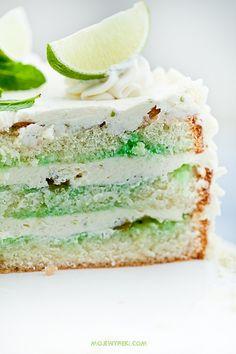 mojito cake.