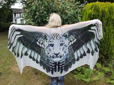 Luipaard sjaal - Wing sjaal - Feather sjaal - Boheemse kleding - Festival… and soon to be MINE!!