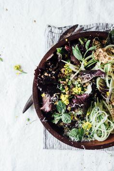 spring asparagus salad #vegan