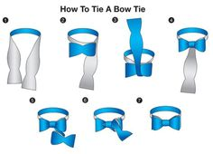 Be proficient AF at tying a bowtie. | 16 Style Charts Every Groom Should See Before The Wedding
