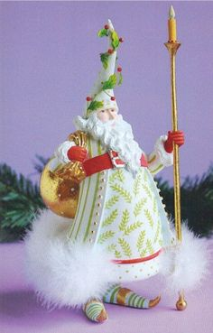 Krinkles Christmas Figures by Patience Brewster at Fiddlesticks