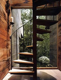 Rough Wood Tree House by Bates Masi