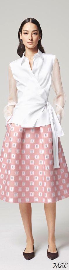 Resort 2016 Escada women fashion outfit clothing style apparel @roressclothes closet ideas