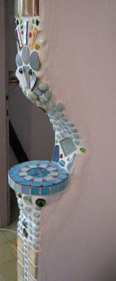 Mosaic on wall