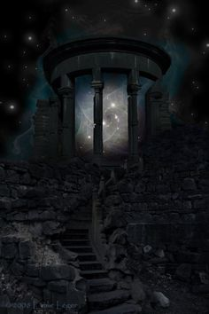 Ressources/Resources: -Temple: [link] -Escaliers et roches/Stairs and rocks: [link] -Fractals et pochoirs/Fractals and brushes: [link] [link] [link] The Portal Fantasy Places, Fantasy World, Dark Fantasy, Chicano, Sunday Pictures, Writing Fantasy, Illusion Art, To Infinity And Beyond, Fantasy Inspiration