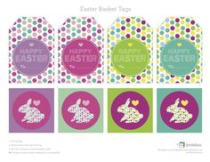 Free printable easter gift tags and stickers easter free free printable easter gift tags and stickers easter free printable and gift negle Image collections