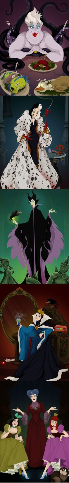 Disney Villain happy endings