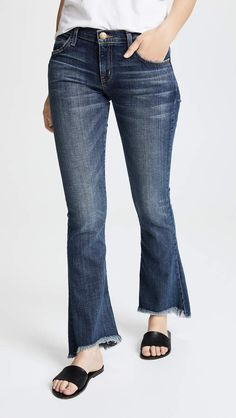 online shopping for Current/Elliott The Flip Flop Jeans from top store. See new offer for Current/Elliott The Flip Flop Jeans Stretch Jeans, Distressed Jeans, Bell Bottom Jeans, Your Style, Flip Flops, Denim, Morgan Lane, Pants, Fashion Design