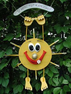 Gallery.ru / Фото #19 - Дом, сад, огород. Интересные идеи. - irinika Diy Crafts Hacks, Fun Crafts, Diy And Crafts, Crafts For Kids, Clay Pot Crafts, Wood Crafts, Paper Crafts, Class Decoration, School Decorations