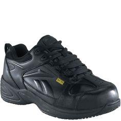 RB156 Reebok Women s Street Sport Safety Shoes - Black Reebok f513f7567